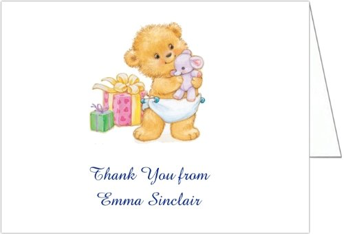 Bearing Gifts Baby Shower Thank You Cards - Set Of 20 front-1036287