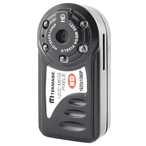 TEKMAGIC 1920x1080P HD Portable Mini DV Camcorder Video Recorder with Voice Recording Small Size 45x22x16mm