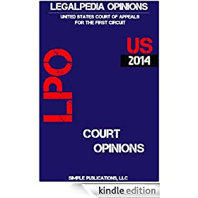Legalpedia Opinions: US Court of Appeals for the First Circuit