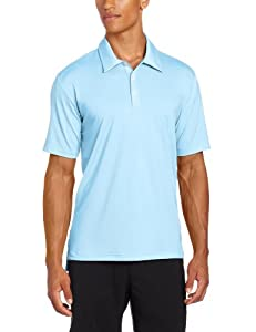 Adidas Golf Mens Climalite Solid Stretch Jersey Polo by adidas