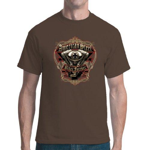 Im-Shirt - Top - Basic - Maniche corte  - Unisex - Adulto Marrine XXXXX-Large