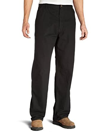 Carhartt Men's  Washed Duck Work Dungaree Utility Pant,Black,28 x 30