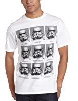 Star Wars Stormtroopers Moods Today I Am... Homme Blanc T-Shirt