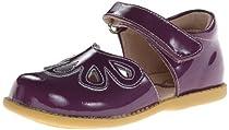 Livie & Luca Petal Rubber Closed Toe (Infant/Toddler/Little Kid),Grape,10 M US Toddler