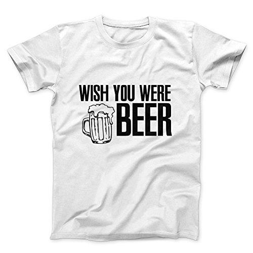 Wish You Were Beer Joke T Shirt Maglietta Uomo - Express Dispatch - S M L XL XXL sizes