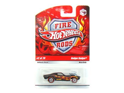 Hot Wheels Fire Rods #2/26 - Rodger Dodger - 1