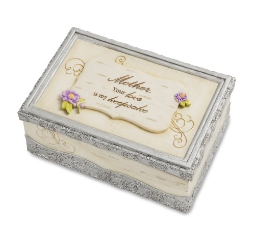 "Pavilion Gift Company 82347 Elements ""Mother"" Music Box, 6 by 4-Inch"