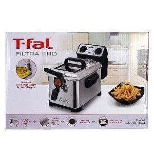 Buy T-fal FR4046002 Filtra Pro 2.6-Pound / 3-Liter Deep Fryer