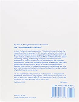 The Unix Programming Environment (Prentice-Hall Software
