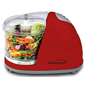 Brentwood Mini Food Chopper, Red Small Appliances by Brentwood