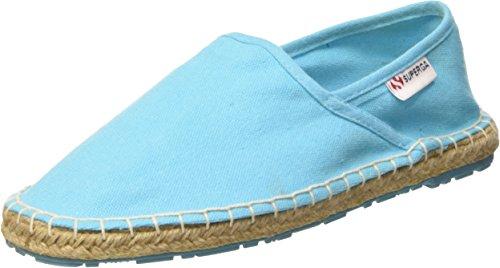 Superga 4524-Cotu, Espadrillas, Unisex - adulto, Blu (C56 Turquoise), 40