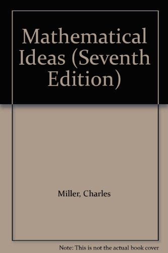 Mathematical Ideas: Custom Edition