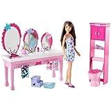 Barbie Sisters Furniture Bathroom & Doll Set