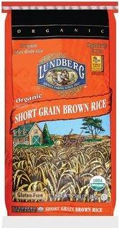 Rice, Brown, Short Grain, Organic, 25# Bulk (Brown Rice Bulk compare prices)