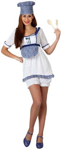 Atosa-15801-Costume-Dguisement-De-Cuisinire-Adulte-Taille-2