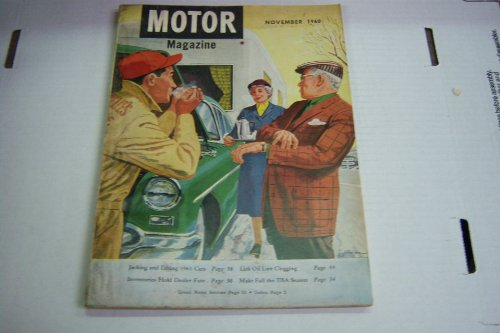 Motor Magazine November 1960 Cover Art By James Jordan Jacking and Lifting 1961 Cars (Motor Magazine) PDF