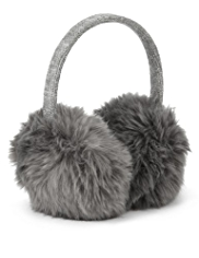 Faux Fur Knitted Ear Muffs