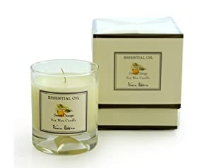 Essential oil filled candle gift box sweet for Oil filled candlesticks