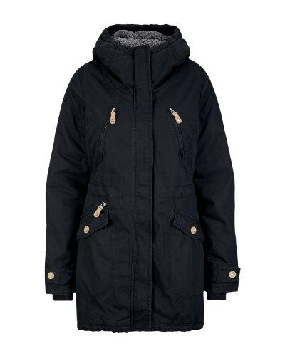 Bench Tara II - Parka con capucha para mujer negro black (BK001) Talla:small