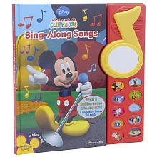 Mickey Mouse Clubhouse Sing-Along Songs Book front-1046344
