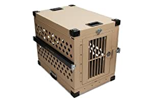 Impact Case Collapsible Dog Crate - Large (Desert Tan)