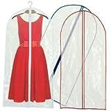 Lot de 6 housses de protection transparentes pour costumes ou manteaux 150cm Hangerworld