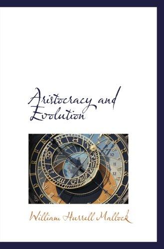 Aristocracy And Evolution