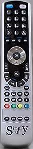Reemplazo mando a distancia para Panasonic TC2680UR de RemotesReplaced