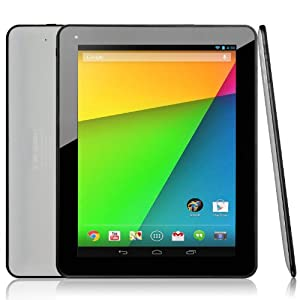 Dragon Touch® A97 9.7'' Google Android 4.2 Jelly Bean Dual Core Tablet PC, Allwinner A20 Dual Core CPU, 1GB RAM, 8GB HDD, 1024x768 Resolution, Multi-Touch Screen, Front Camera + Rear Camera, Google Play Pre-Installed, HDMI 2160P Output, Skype Video Calling, Netflix, Flash Supported [By TabletExpress]