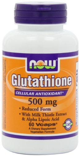 NOW Foods Glutathione 500mg Plus, 60 Vcaps
