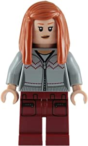 LEGO Harry Potter: Ginny Weasley (Grey Shirt, Red Trousers) Minifigure