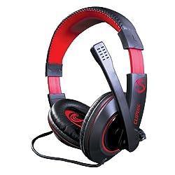 CLiPtec BGH668BK Poison P8 - C-Cobra Pro Stereo Multimedia PC Gaming Headset - Black