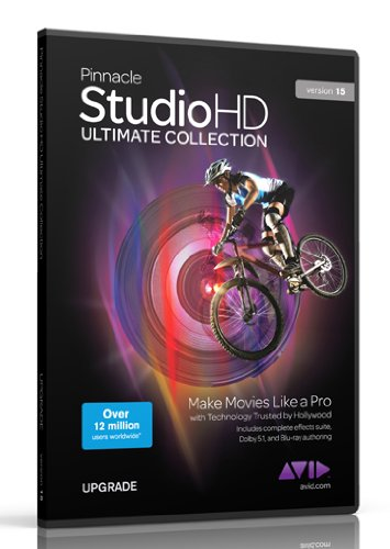 Pinnacle Studio HD Ultimate Collection v15, Upgrade Edition (PC)