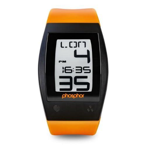 Phosphor フォスファー Men's WP003 World Time デジタルウォッチ 男性用 メンズ 腕時計 (並行輸入)