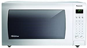 Panasonic 1250W 1.6 Cu. Ft. Countertop Microwave with Inverter Technology NN-H765WF White