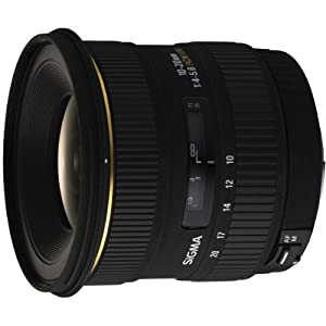 Sigma 10-20mm f/4-5.6 EX DC Lens for Minolta and Sony Digital SLR Cameras