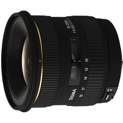 Sigma Objectif 10-20 mm F4-5,6 DC  EX - Monture Sony