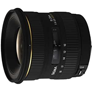 Sigma 10-20mm f/4-5.6 EX DC HSM Lens for Sigma Digital SLR Cameras
