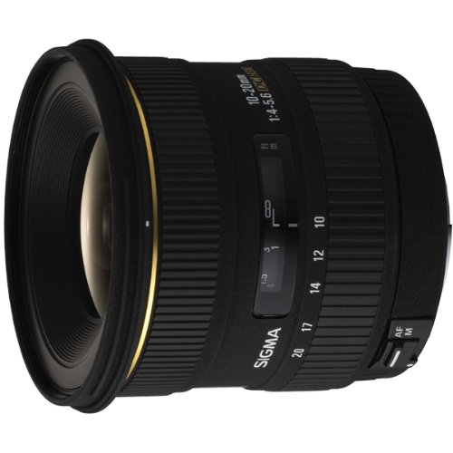 Sigma 10-20mm f/4-5.6 EX DC Lens for Minolta/Sony