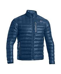 Under Armour Men\'s UA Storm ColdGear Infrared Turing Jacket X-Large PETROL BLUE