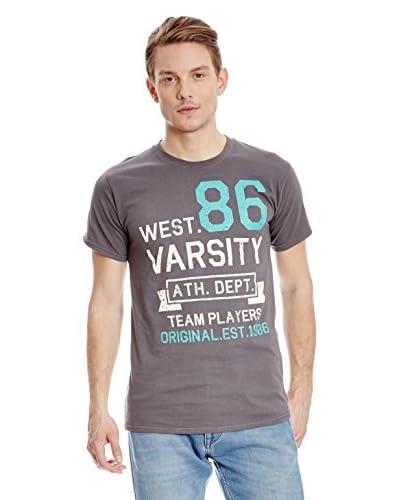 Varsity Team Players T-Shirt West 86 [Bianco]