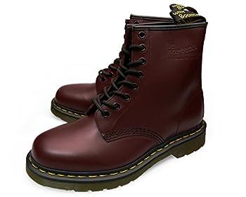 [ドクターマーチン] Dr.Martens [8ホール ブーツ] 8EYE BOOT [チェリーレッド ルージュ スムース] CHERRY RED ROUGE SMOOTH 1460-11822600 [メンズ 男性用] MENS DMCソール ブランド 替え紐付 レースアップ UK 8.0 size (サイズ 27.0cm)