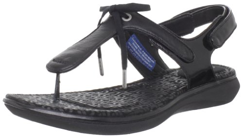 Rockport Womens Aislyn Bow Tie Thong Sandal