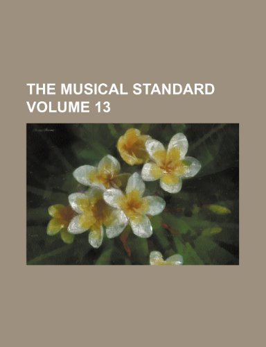The musical standard Volume 13