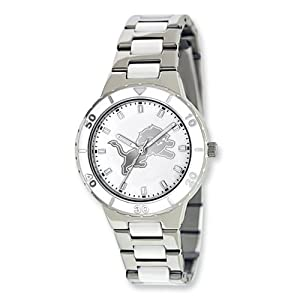 Ladies NFL Detroit Lions Pearl Watch by Jewelry Adviser Nfl Watches