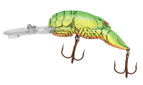 Review: Rebel Lures Deep Wee Fishing Lure (2 3/8-Inch, Chartreuse/Green Back)  Review