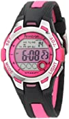 Armitron Sport Womens 457030PNK Pink and Black Digital Watch