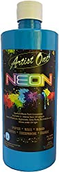 Artist One Neon (Fluorescent Light Blue 500ml)