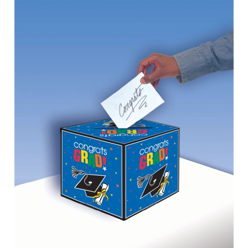 Congrats Grad Graduation Card Box