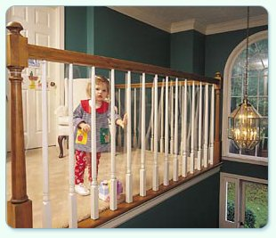 Kid Shield, 30' Roll For Banister Safety front-917871